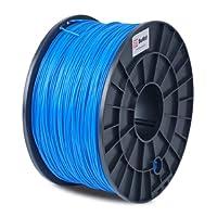BuMat PLABU 1.75mm, 1kg, 2.2lb Blue Filament Printing Material Supply Spool for 3D Printer from Sans Digital