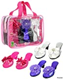 My Princess Academy / Playtime Dress-Up Shoe Collection, 3 Pairs in Metallic Colors