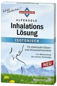 Bad Reichenhaller 99372 Alpensole Inhalationslösung 20 Ampullen