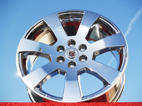 Cadillac SRX: Set of 4 genuine factory 18inch