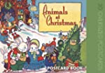 Animals at Christmas: Postcard Book