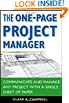 The One-Page Project Manager: Communi...