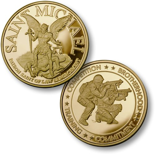 Northwest Territorial Mint Saint Michael - SWAT 2 MerlinGold Coin
