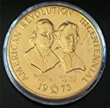 1973 Bronze Bicentennial Commemorative Medal Adams / Henry
