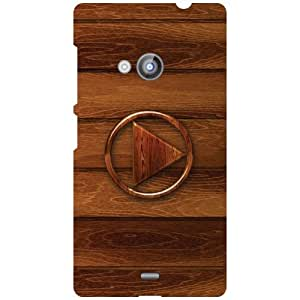 Nokia Lumia 535 Back Cover - Abstract Designer Cases