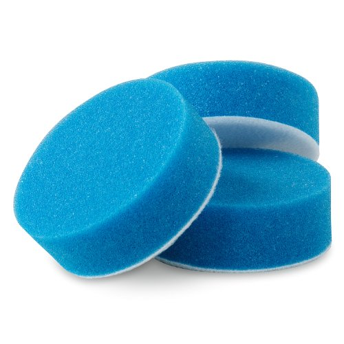 Griot's Garage 11249 Blue 3″ Applicator Pad, (Set of 3)
