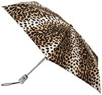 Totes Ladies Signature Micro Auto Open Auto Close Compact Umbrella from Totes