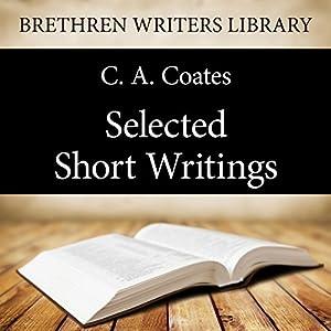 Selected Short Writings Audiobook