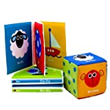 Sassy First Sounds Book Set and Cube