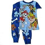 Paw Patrol Pup Pals Little Boys Blue Short Sleeve 2pc Pajama Set