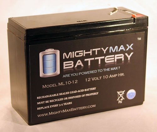 ML10-12 - 12V 10AH REPLACEMENT for Generac 0G9449 BATTERY