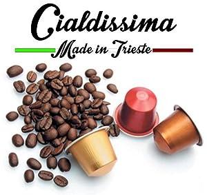 Choose cialdissima 100 CAPSULES NESPRESSO COFFEE! 100% COMPATIBLE! ITALIAN ESPRESSO! THREE DIFFERENT BLENDS! by cialdissima