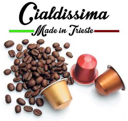 Choose cialdissima 100 CAPSULES NESPRESSO COFFEE! 100% COMPATIBLE! ITALIAN ESPRESSO! THREE DIFFERENT BLENDS! by cialdissima