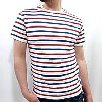 (アヴィレックス)AVIREX ボーダー 半袖 Tシャツ