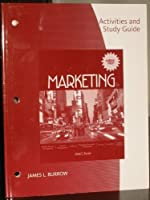 Activities and Study Guide for Burrow s Marketing by Burrow