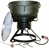 King Kooker 1740 17 1 2 Inch Outdoor Cooker With 10 Gallon Cast Iron
