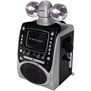 Singing Machine SML-390 Disco Lights CDG Karaoke System - SML-390