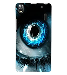 ColourCraft Digital Eye Design Back Case Cover for LENOVO K3 NOTE
