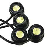 HITSAN One To Four 4x3W Strobe Flash Eagle Eye LEDs Car Light With Wireless Remote One Piece