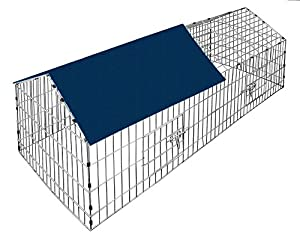 Partager eur 39 99 livraison gratuite en stock vendu par for Parc a lapin exterieur