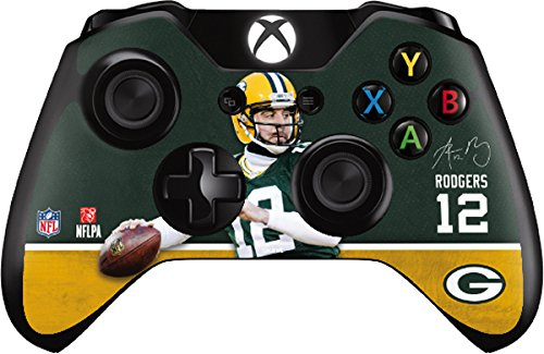 Aaron Rodgers Action Shot Green Bay Packers - Skin for Xbox One - Controller