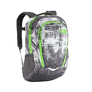 The North Face - Vault (Graphite Grey Silhouette Forestscape Print/Krypton Green) Backpack Bags