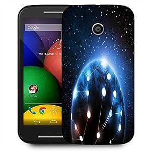 Snoogg Connected World Designer Protective Phone Back Case Cover For Motorola E2 / MOTO E22