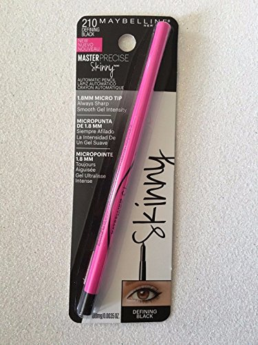 Master Precise Skinny Automatic Pencil - 210 Defining Black by Maybelline (Maybelline Master Precise compare prices)