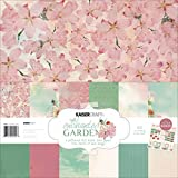 Kaisercraft PK442 Paper Pack Bonus Sticker Sheet, 12 by 12-Inch, Enchanted Garden, 12-Pack