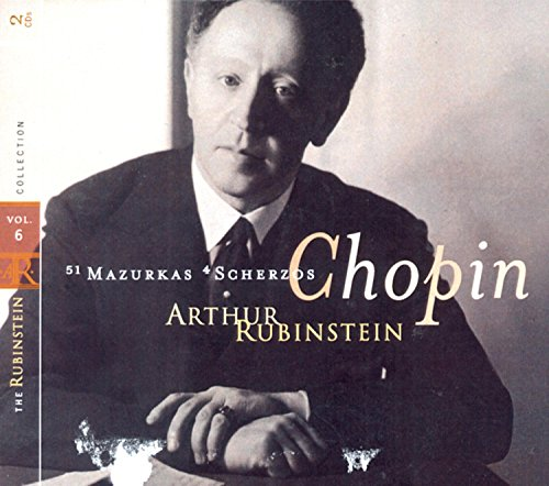 Rubinstein Collection, Vol. 6: Chopin: 51 Mazurkas, 4 Scherzos