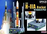 DRAGON H-II Aロケットw/発射台  (1/400スケール 塗装済完成品)