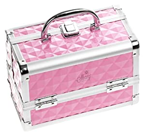 Shany Cosmetics Pink Mania Makeup Train Case With Mirror