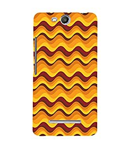 Abstract Painting Cute Fashion 3D Hard Polycarbonate Designer Back Case Cover for Micromax Canvas Juice 3 Q392