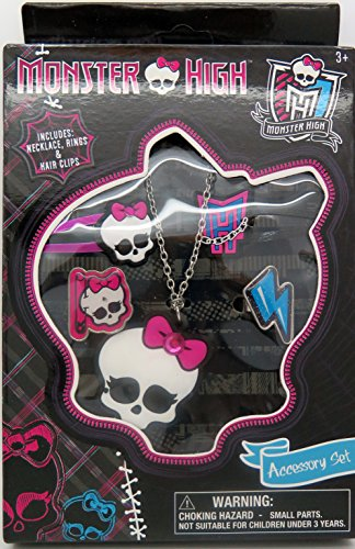 Monster High jewelry and hair box set (Monster High Rings)
