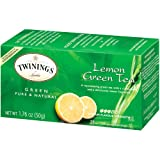 Twinings, Lemon Green Tea, 25 Tea Bags, 1.76 oz (50 g)