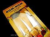 KOMKOM(コムコム) KOMKOMカービングナイフ 3本セット 【KOMKOM】【飾り切り】