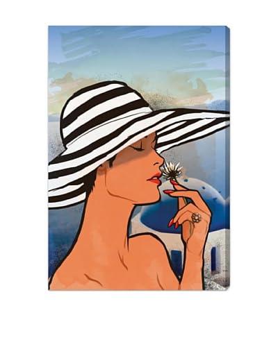 Oliver Gal Summer in Mykonos Canvas Art