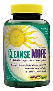 Renew Life - Cleanse More, 100 veggie caps