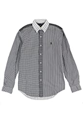 Polo Ralph Lauren Men's Patterned Poplin Shirt