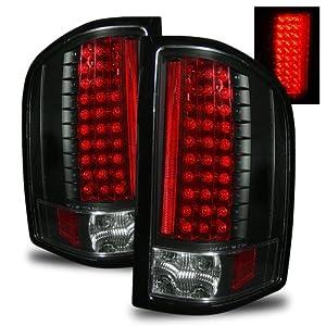 Chevrolet Silverado 3500 HD 2010 LED Tail Lights Black (Fits: LT,LTZ,WT Cab & Chassis 4-Door)