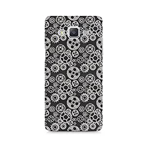 Motivatebox - Vintage Gear Overload Samsung Galaxy A7 cover - Polycarbonate 3D Hard case protective back cover. Premium Quality designer Printed 3D Matte finish hard case back cover.