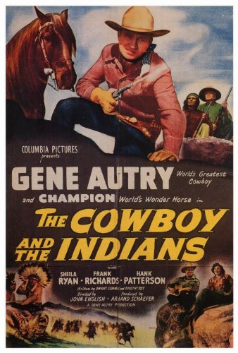 The Cowboy and the Indians (1949) Cover