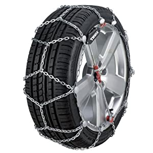 Thule XG-12 Pro Snow Chains for SUVs and Light Trucks One Color, 240