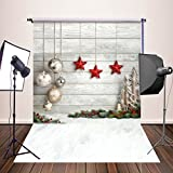 HUAYI 5x7ft Photography Backdrops Christmas Starts Background Newborn Photo Props YJ-345 (Color: 15)