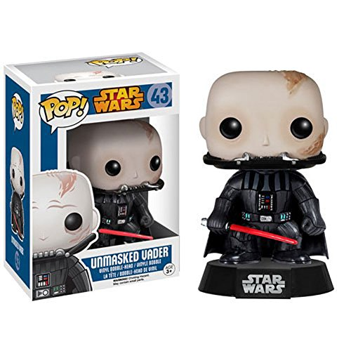 Star Wars Unmasked Vader Bobble Head POP! Vinyl Figure [Funko] - 1