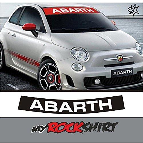 Abarth-Blend-Bandes-autocollant-autocollant-pour-voiture-tuning-autocollant-avec-kit-de-montage-avec-estrel-Lina-Montage-Raclette-estrel-Lina-de-colle-sur-de-bonheur