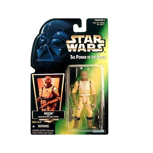 Star Wars Power of the Force Green Card Bossk Action Figure