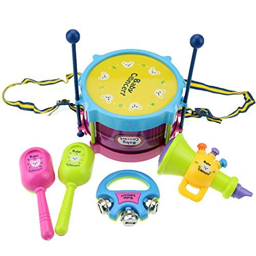 evinis-5-pcs-new-roll-drum-musical-instruments-band-kit-kids-children-toy-gift-set-baby-concert-set