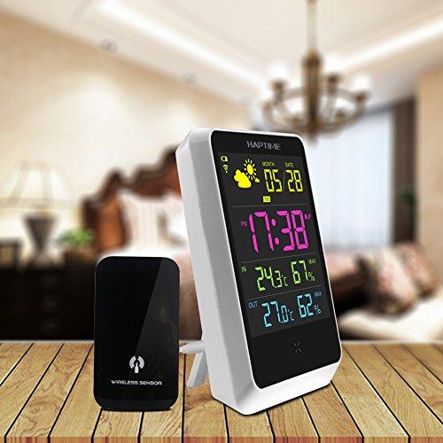 digital-lcd-farbdisplay-funkwetterstation-funkuhr-thermometer-wettervorhersage-station-wireless-sens