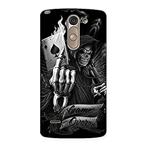 Stylish Game Over Back Case Cover for LG G3 Stylus